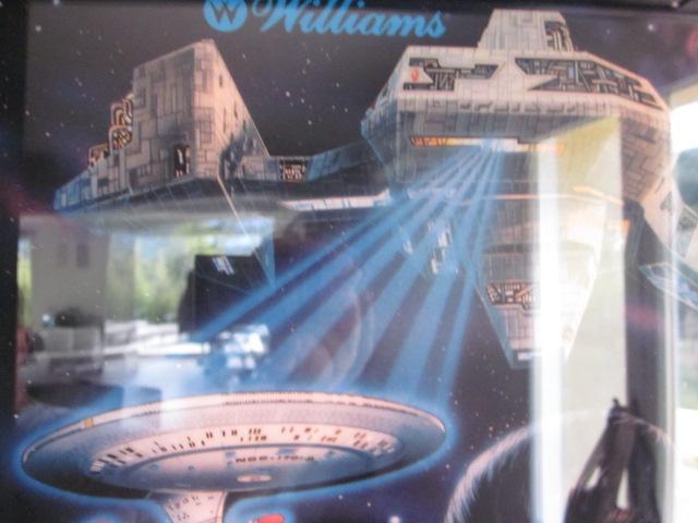 Borg ship & USS entreprise